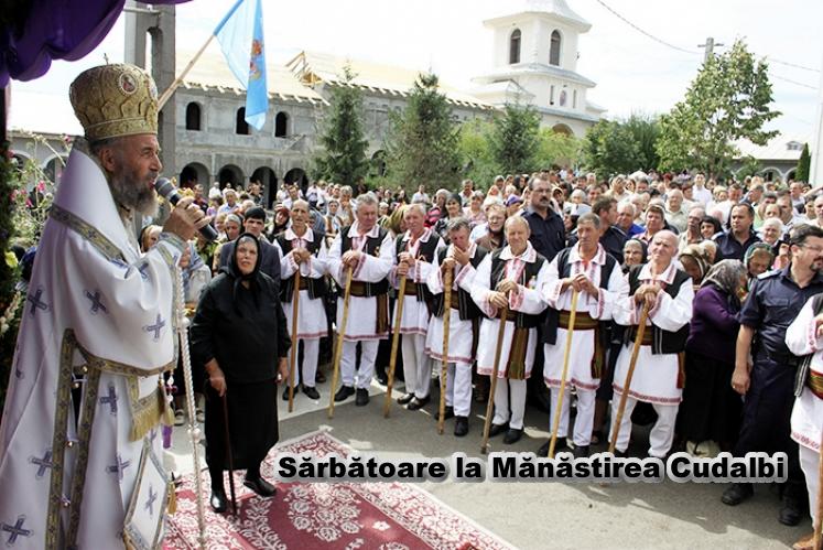 Sărbătoare la Mănăstirea Cudalbi din judeţul Galaţi