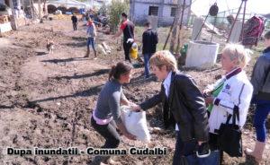 Sprijin de la elevii Colegiului Hogaş pentru comuna Cudalbi jud Galati