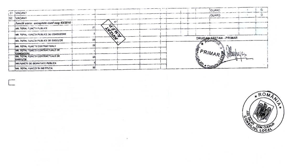 Statul de functii al comunei cudalbi - 3