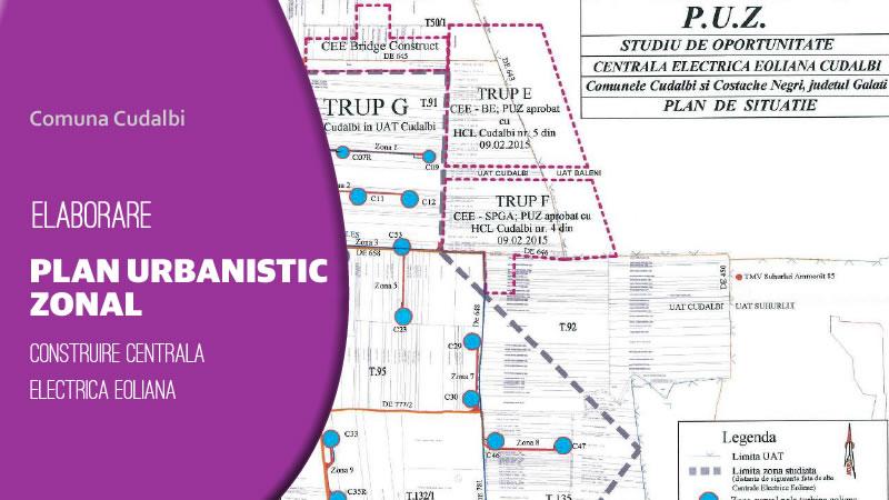 Plan Urbanistic zonal Comuna Cudalbi 2019